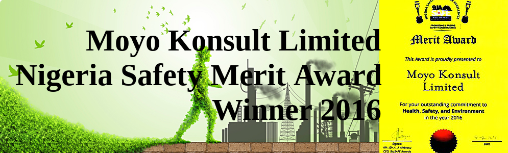 Moyo Konsult Ltd : Nigeria Safety Merit Award Winner 2016